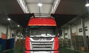 【梦欣车队】上海9.6米双飞翼厢式货车内承接市内短驳及江浙运输服务,可一次提供多部
