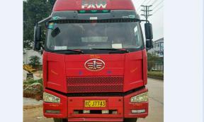 【赣CJ7743】江门市13米平板车承接珠三角地区货物运输